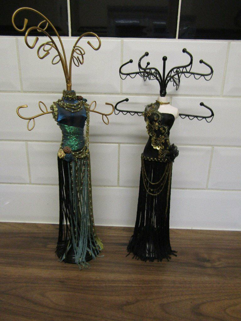 """Jewellery Standsin Cheltenham, GloucestershireGumtree - Approx. 15"""" High, £3 each, Selling cheap as no longer needed, they are in good condition"""