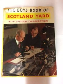 The Boys Book Of Scotland Yard (Book)