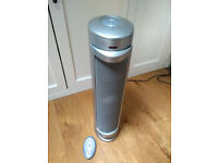 Bionaire tower air purifier with remote control, good condition