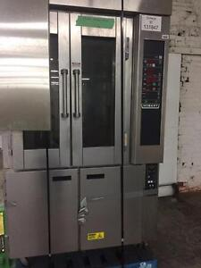 Hobart HO300E (ELECTRIC Mini Rotating Rack Oven with PC800 Proofer Cabinet