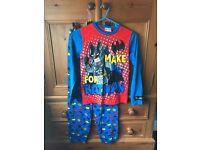 Boys pyjama's and T-shirt bundle Age 9-10