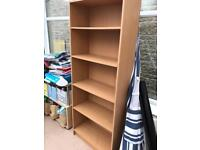 Wooden bookcase. Free.
