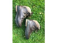 Leather Walking Boots - Ladies/Womens UK6 RRP £230