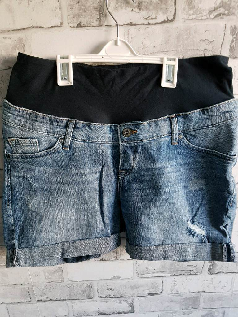 1ba13a156e7f3 Maternity jeans shorts from H&M. Very good condition | in Liverpool ...