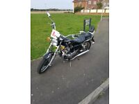 AJS Regal Raptor for sale. 11 months MOT, 12 plate