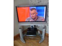 """37"""" Panasonic TV and Stand"""