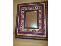 Handmade Caribbean Mirror