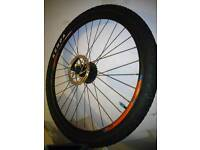 """29""""DMD rear wheel with tyre and sprocket"""