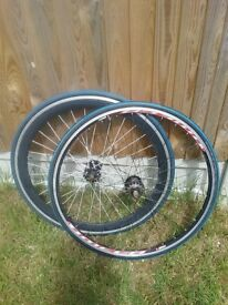 Bike road wheelset