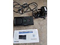 Supertooth Bluetooth Visor go hands free kit