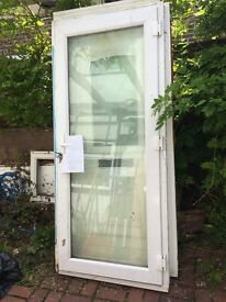 UPVC Door 2065mm high 910mm wide £60 pre used