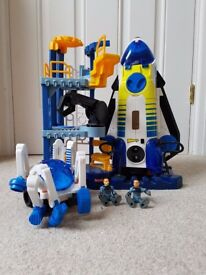 Imaginext Space Shuttle and Launcher with Astronauts & space pod