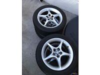 Toyota Celica Stock Alloys Rims with Tyres