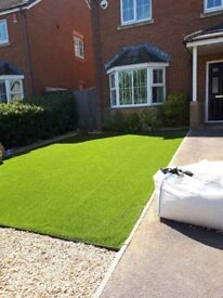 4' x 14' piece of new artificial turf