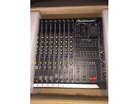 Studiomaster powered mixer full pa