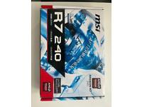 Radeon MSI R7 240 DDR3 2GB Mint condition