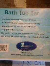 Bath tub bar