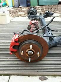 Mrk 7 fiesta st rear axle with discs