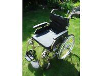 Lightweight Folding Wheelchair in Excellent Condition