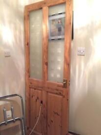 Door - with glass panels