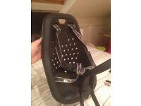 Yepp Mini Child Bike Seat with stem adaptor. Black