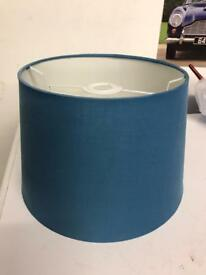 Lampshade / John Lewis / as new condition / blue