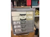 Bisley 5 draw A4 cabinet