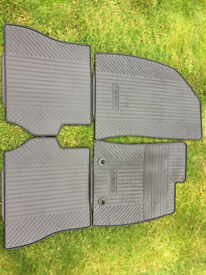 Genuine Ford Fiesta Mk6 Rubber Floor Mats Complete Set