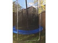 8FT Trampoline including netting enclosure and winter storage cover