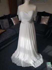 Verise Bridal Wedding Dress NEW UNWORN Louise Size 10 Ivory