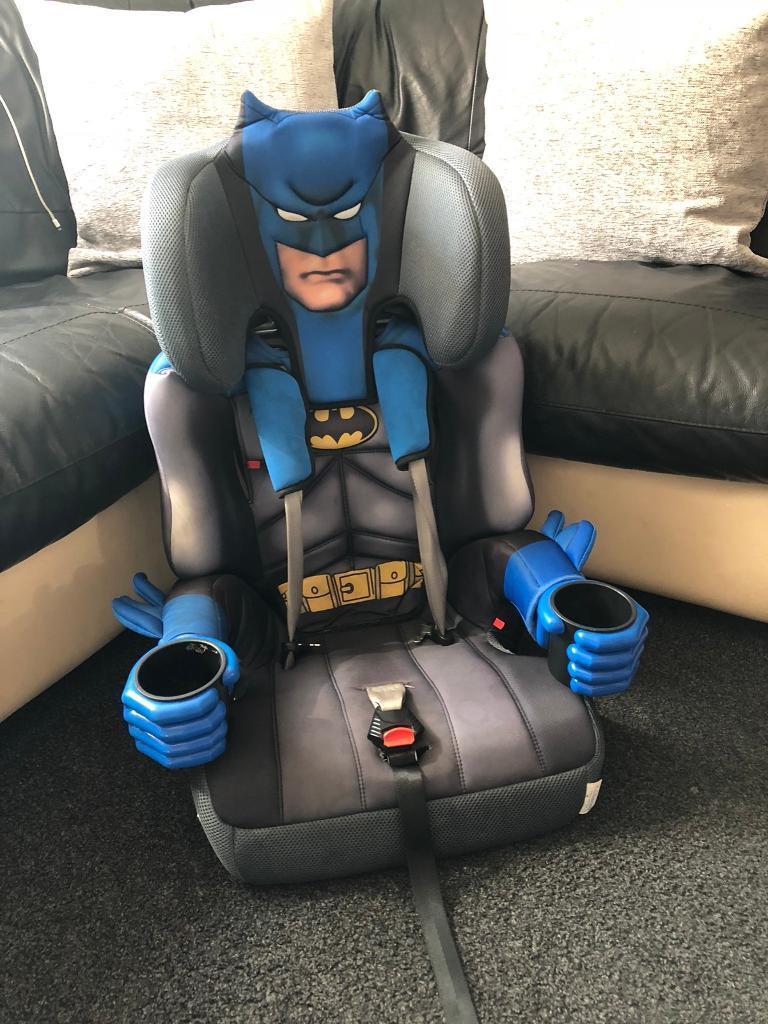 Batman Car Seat And Booster
