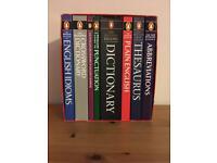 Set of 8 Penguin Books