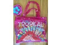 Little girl's swim bag, little mermaid EXCELLENT CONDITION