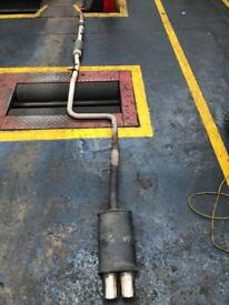 Ford Fiesta exhaust and after market back box