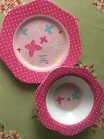 Children's plates, bowls