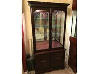 John E Coyle Furniture - 2 display cabinets, tv stand, hifi cabinet (can be sold separately)