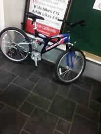 Good Condition dual Suspension Rocky Ridge Mountain Bike