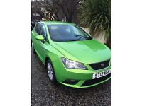 SEAT Ibiza 5dr Hatchback 1.4 in Green 2012 plate