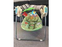 Fisher Price rainforest baby swing chair
