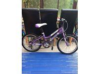 Girls 20inch bike with gears