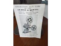 GB - Bell & Howell 16mm model 613
