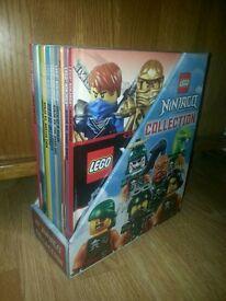 LEGO NINJAGO BOOK COLLECTION EXCELLENT CONDITION