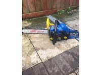 Petrol chainsaw saw