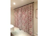 Two pairs of high quality curtains