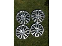 "Renault Genuine 15"" wheel trims"