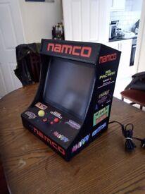 Bartop Arcade Cabinet Homemade Namco Ms. Pacman Galaga ecc