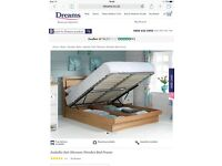 Dreams ottoman king size bed