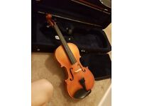 New violin elegant and never used