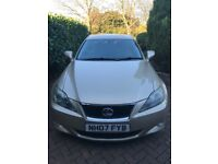 Lexus IS 220 for sale very good condition has a full service history. Long Mot October 2018.