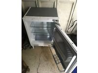 Kenwood under counter intergrated larder fridge
